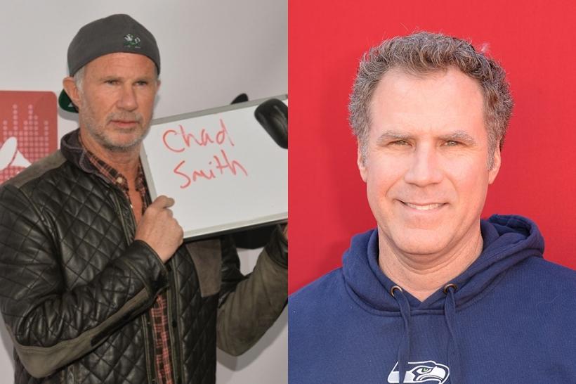 Chad Smith, Will Ferrell, drum battle