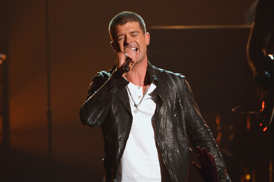 Robin Thicke Plans To Get Her Back With New Album Spin