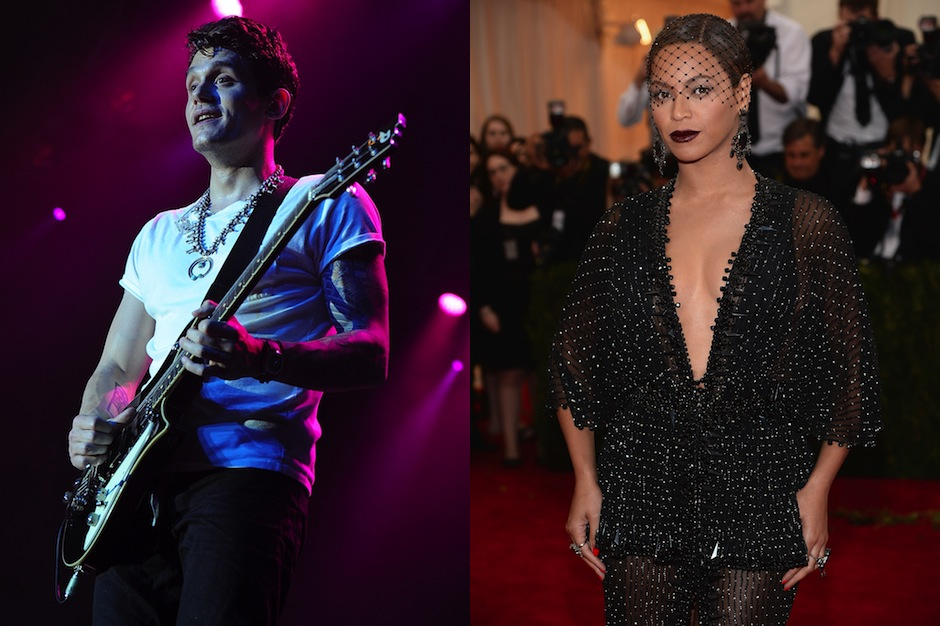 "John Mayer, Beyonce, ""XO,"" cover, studio version, stream"