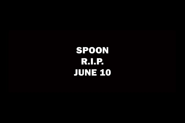 Spoon R.I.P. June Release Single Album