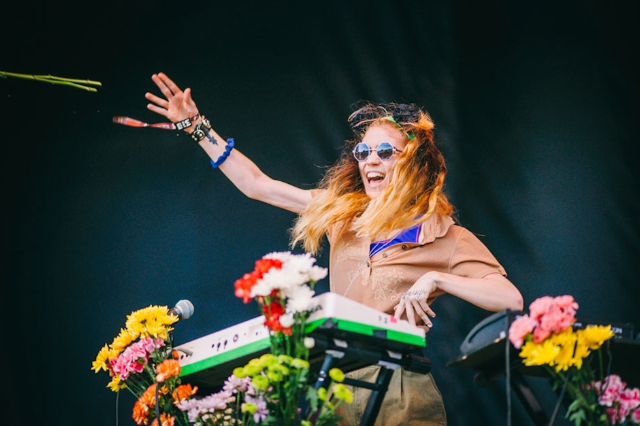 Grimes believes in flower power