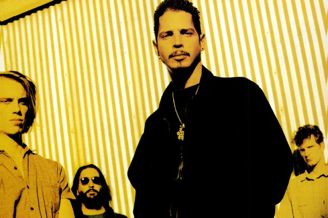 Soundgarden, from left: Matt Cameron, Kim Thayil, Chris Cornell, and Ben Shepherd.