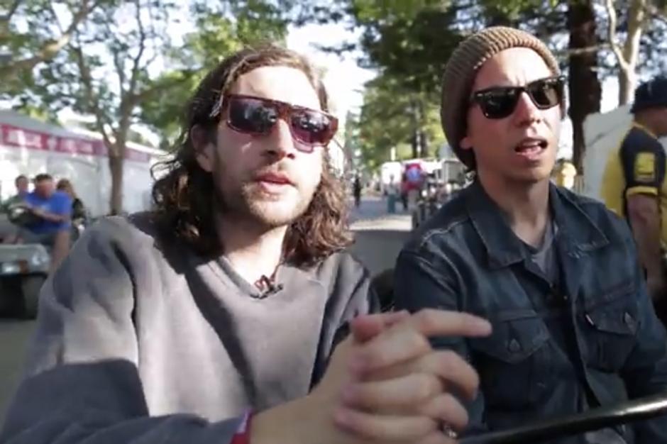 No Age BottleRock Festival Video Backstage Napa