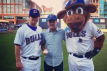 Superchunk, Merge Records, Durham Bulls, first pitch, walk-up music, Mount Moriah, national anthem