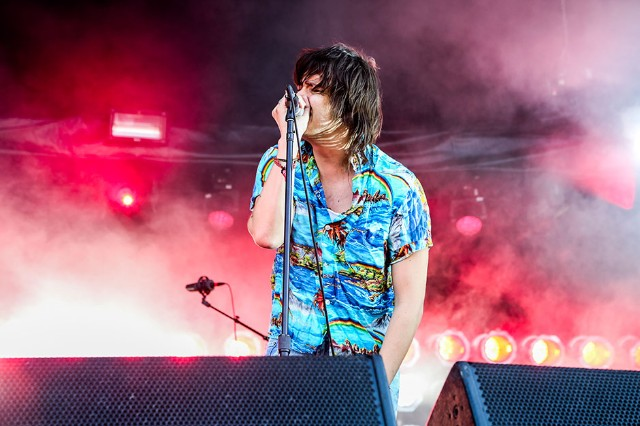 The Strokes at Governors Ball, Randall's Island, New York City, June 6-8, 2014 / Photo by Krista Schlueter