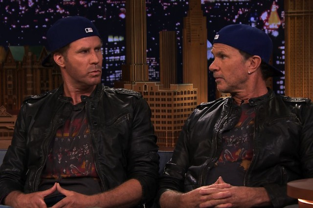 Will Ferrell, Chad Smith, drum-off, Metallica, Lars Ulrich