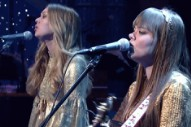 See First Aid Kit Wow Letterman With 'My Silver Lining'