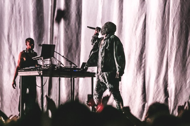 Kanye West at Bonnaroo, Manchester, Tennessee, June 12-15, 2014