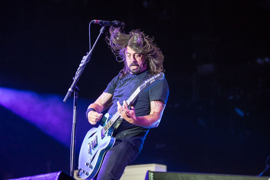 Foo Fighters at Firefly Music Festival, Dover, Delaware, June 19-22, 2014