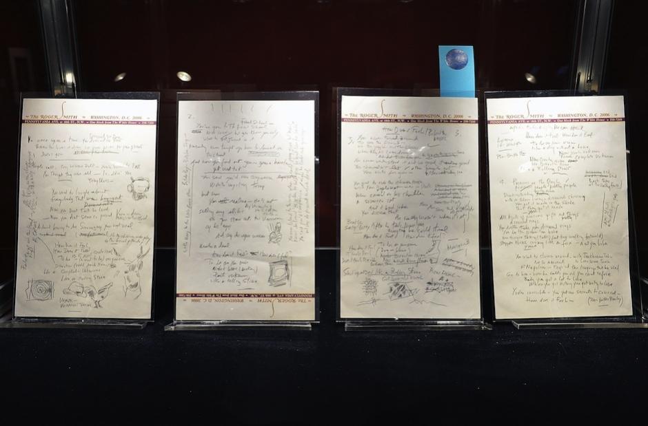 Bob Dylan Like A Rolling Stone Manuscript Auction 2 million