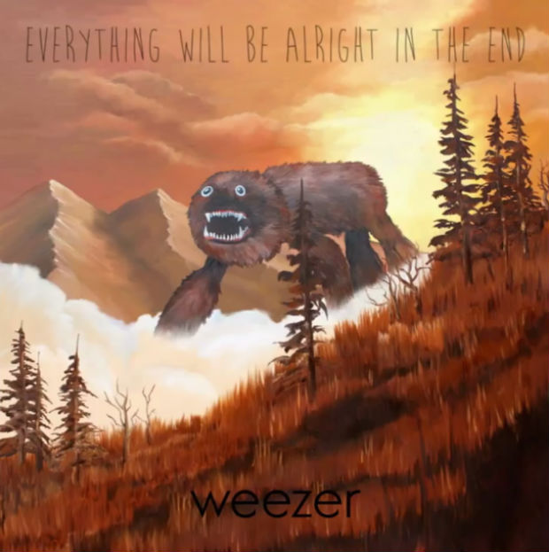 Weezer 'Everything Will Be Alright in the End' album cover artwork