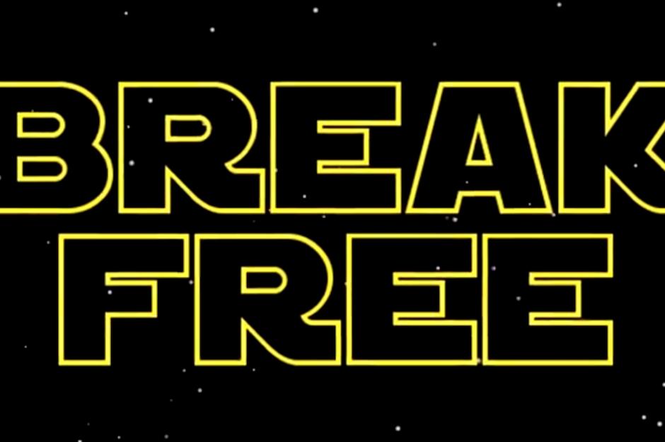 ariana grande cribs �star wars� credits for �break free