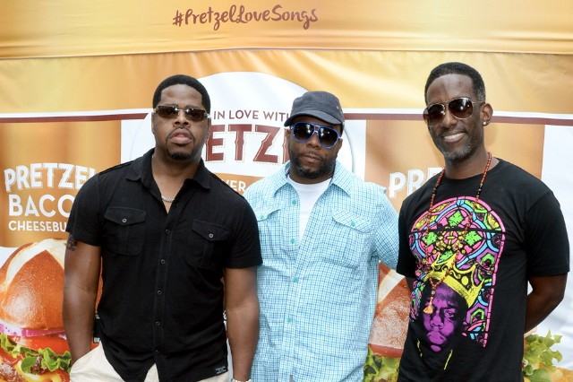 Boyz II Men Sing a Song About Pretzel Bread and It's Amazing | SPIN