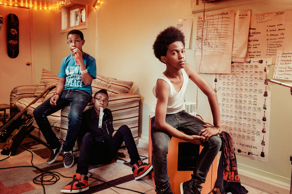 Unlocking the Truth eighth grade metal band sign major label sony
