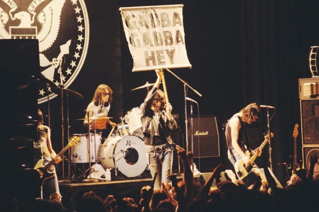 The Ramones in Atlanta, February 25, 1978.
