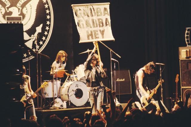 The Ramones in Atlanta, February 25, 1978.