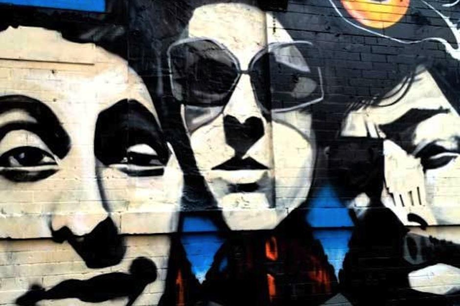 Beastie Boys Paul's Boutique Anniversary Mural Lower East Side