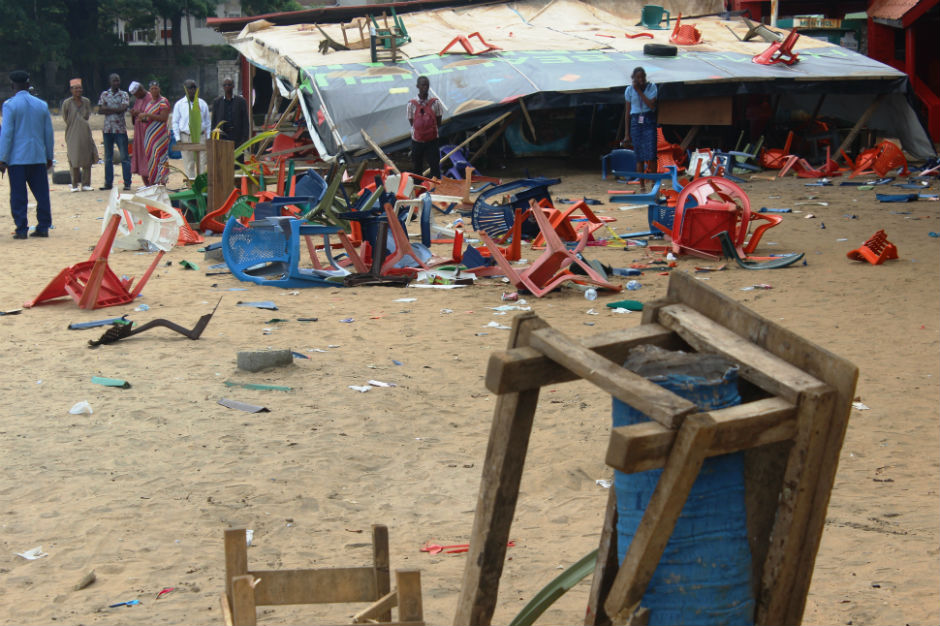 Guinea Stampede Rap Concert CONAKRY 33 dead Instinct Killers