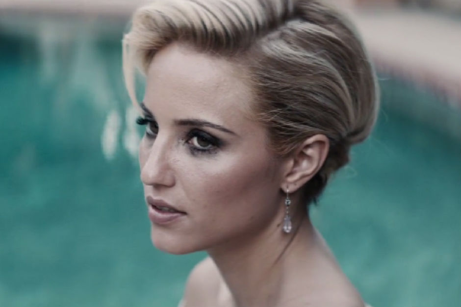 Dianna Agron in sam smith video