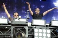 Above & Beyond Talk EDM at Lollapalooza's Toyota Soundwave Tent