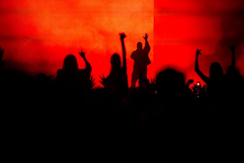 Kanye West at Outside Lands, San Francisco, August 8-10, 2014