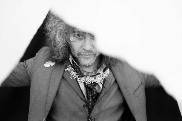 Wayne Coyne at Outside Lands in San Francisco in August 2014