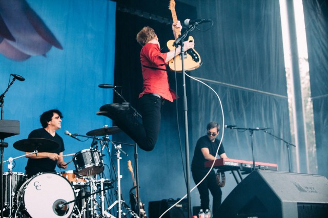 Spoon at Outside Lands, San Francisco, August 8-10, 2014 / Photo by Tom Tomkinson