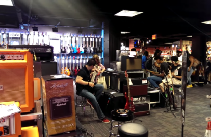 Times Square's Guitar Center Is an Ear-Splitting Hellhole