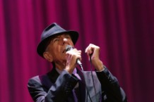 leonard cohen, new album