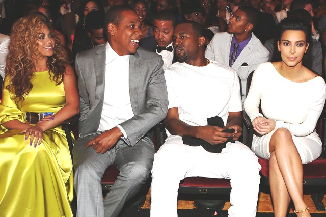 Image result for jay z and kanye, beyonce and kim