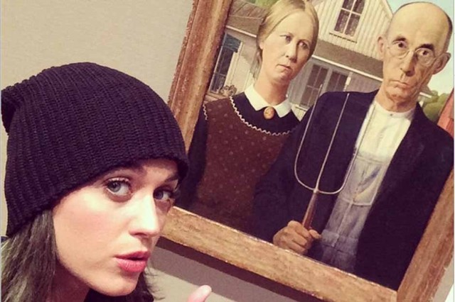 katy perry magritte exhibit
