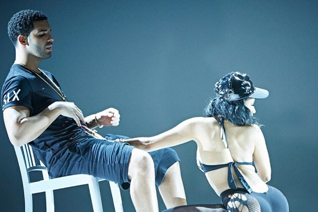 Nicki Minaj Gets Dirty With Drake in New 'Anaconda' Stills