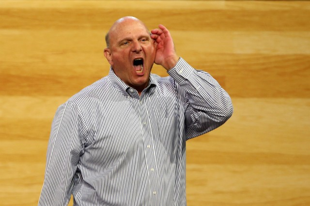 Steve Ballmer Clippers Eminem Walkout Video Owner Lose Yourself