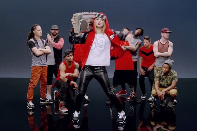 Taylor Swift Shake It Off Music Video 1989 Gif