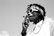Turn Up for What: Wiz Khalifa Shrugs His Way Through 'Blacc Hollywood'