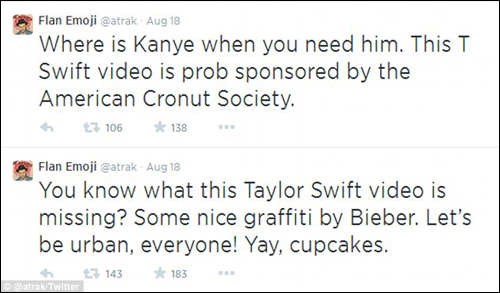 A-Trak Flan Emoji Taylor Swift Odd Future Video Daily Mail