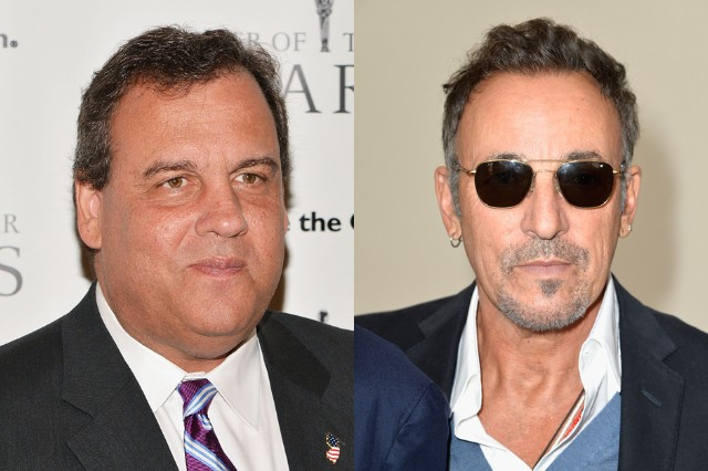 Chris Christie Bruce Springsteen Argument Video