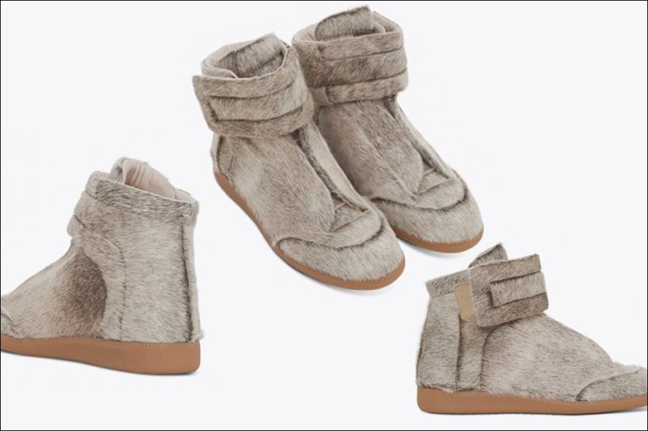 Kanye West's Pony-Ha... Kanye West Shoes