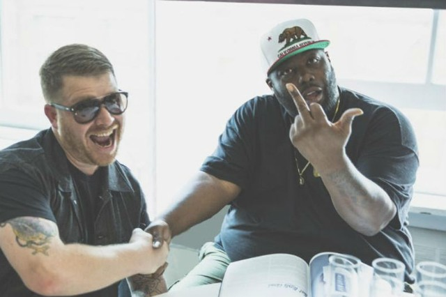 Run the Jewels new album RTJ2 'Blockbuster Night Part 1' Killer Mike El-P