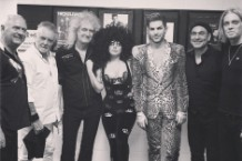 lady gaga queen sydney adam lambert