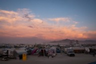Woman at Burning Man Dies, Hit by Bus