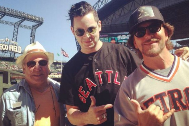 Jack White Eddie Vedder Paul Simon Seattle Mariners Game