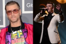Sam Smith RiFF RAFF VMA feud MTV Instagram
