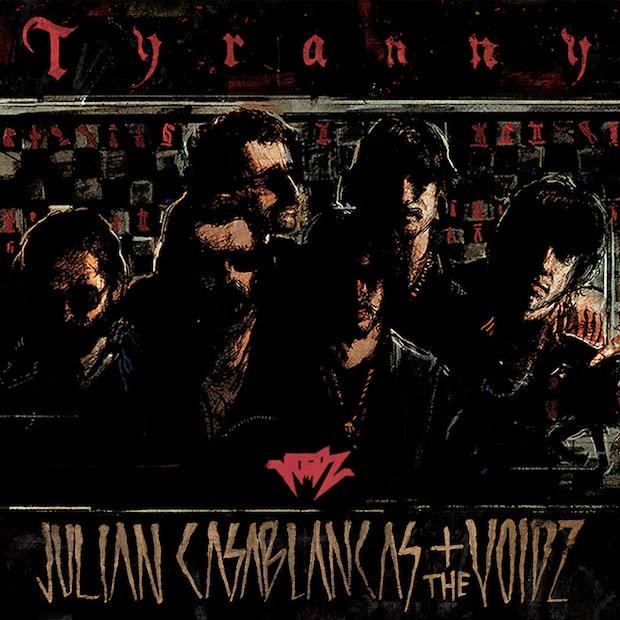 Julian Casablancas Voidz Tyranny Cover
