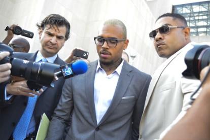 Chris Brown Misdemeanor assault Charge Washington DC W Hotel Plead Guilty