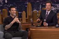 Adam Levine Might Be Better at Musical Impressions Than Jimmy Fallon