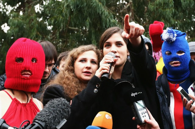 Pussy Riot MediaZona Independent Russian News Service