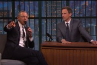 Watch Jeff Goldblum Sing the 'Jurassic Park' Theme on 'Late Night'