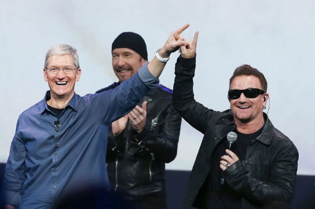 U2 $100 Million Apple Deal 'Songs of Innocence' iTUnes