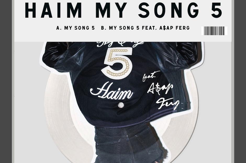 Haim Alana Haim My Song 5 Asap Ferg Picture Disc